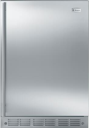 """GE Monogram ZIFS240PSS 24""""  Stainless Steel Compact Refrigerator with 5.4 cu. ft. Capacity"""