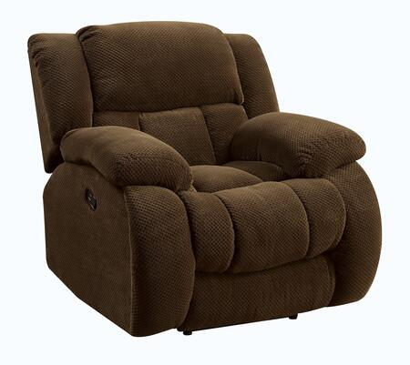 Coaster 601926 Weissman Series Casual Fabric Wood Frame  Recliners