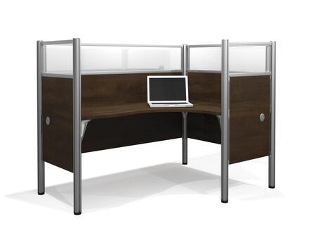 Bestar Furniture 100855D Pro-Biz single Right L-desk workstation