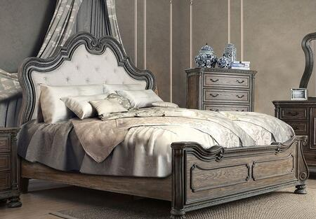 Furniture of America CM7662QBED Ariadne Series  Queen Size Panel Bed