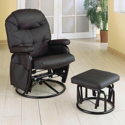 Coaster 7291 Casual Wood Frame  Recliners