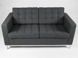 Fine Mod Imports FMI22142GRAY Button Series  Loveseat