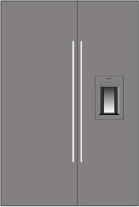 Thermador 277076 Freedom Side-By-Side Refrigerators