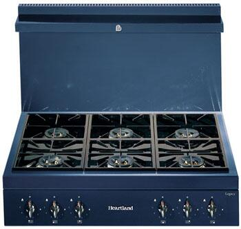 Heartland 382017LP  Gas Sealed Burner Style Cooktop, in Gun Metal