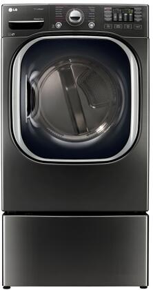 LG 744746 Black Stainless Steel Washer and Dryer Combos