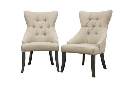 Wholesale Interiors Y773CW0182 Daphne Series  Dining Room Chair