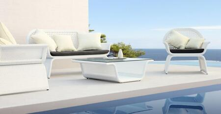 VIG Furniture VGMNPROVENCESOFAB Modern Patio Sets