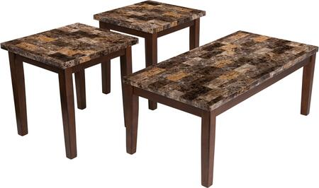 Theo 3 Piece Occasional Table Set