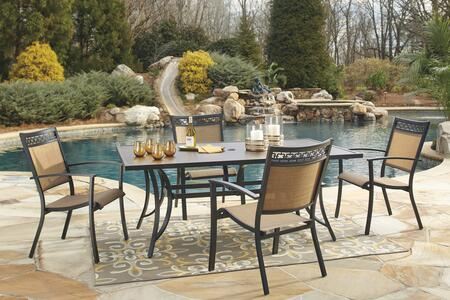 Signature Design by Ashley P376RECT4C Carmadelia Patio Sets