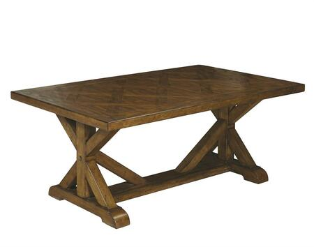 Samuel Lawrence 8854100 Oak Industrial Table