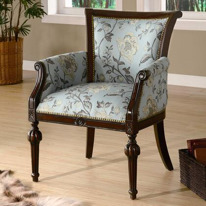 Coaster 900220 Club Fabric Wood Frame Accent Chair