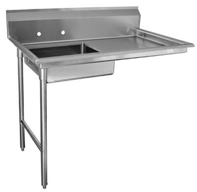 "Advance Tabco DTU-U60-72 72"" Undercounter Dishtable Assembly"