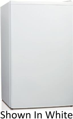 Equator RF157R43SS  Compact Refrigerator with 4.6 cu. ft. Capacity in Stainless Steel