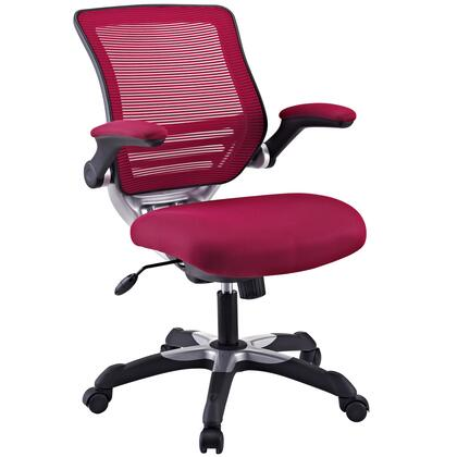 "Modway EEI594BUR 26.5"" Adjustable Contemporary Office Chair"