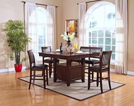 New Classic Home Furnishings 4510110CCB Kaylee Dining Room S