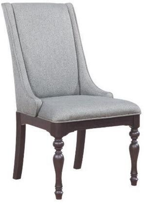 Coaster 107333 Leon Series Transitional Fabric Wood Frame Dining Room Chair