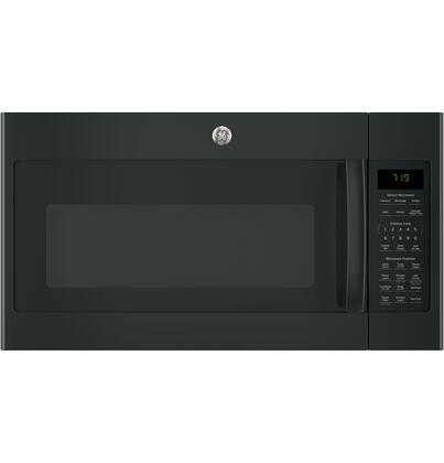 GE JNM7196 Over-the-Range Microwave Oven with 1.9 cu. ft. Capacity, 400 CFM Venting fan system, Sensor cooking, Weight and time defrost and Melt feature in