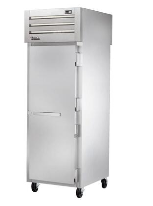 True STA1FPT Spec Series Pass-Thru Freezer with XX Cu. Ft. Capacity, LED Lighting, and Solid Swing-Doors