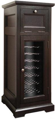 """Vinotemp VTBLEEKERBAR 18"""" Freestanding Wine Cooler"""
