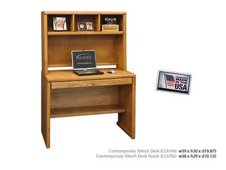 Legends Furniture CC6104LTO Traditional Office Desk