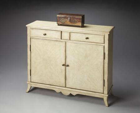 Butler 3019249 Masterpiece Series Hardwood solids, birch veneers and wood products 2 Drawers Cabinet