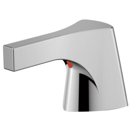 Zura  H274 Delta Zura: Bidet Handle/ Widespread Handle in Chrome