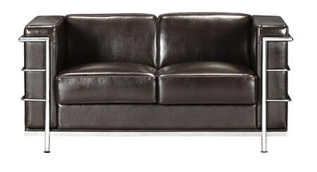 Zuo 900240 Fortress Series  Loveseat