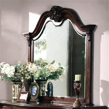 Yuan Tai DA5906M Dasan Series Arched Portrait Dresser Mirror