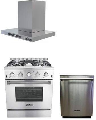 Thor Kitchen 749948 Kitchen Appliance Packages