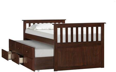 3000 Chestnut Captain Bed