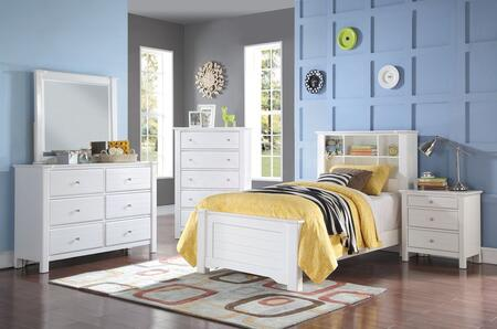 Acme Furniture 30405F5PC Mallowsea Full Bedroom Sets