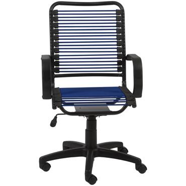 "Euro Style 02548BLU 23"" Contemporary Office Chair"