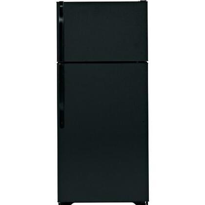 Hotpoint HTS17CBDBB Freestanding Top Freezer Refrigerator with 16.6 cu. ft. Total Capacity