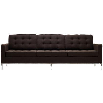 Modway EEI188CHC Loft Series Stationary Fabric Sofa