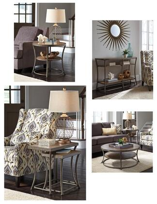 Milo Italia TA609CESN Shea Living Room Table Sets