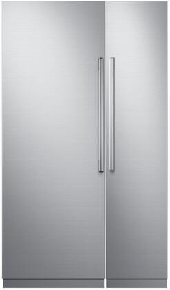 Dacor 772322 Modernist Side-By-Side Refrigerators