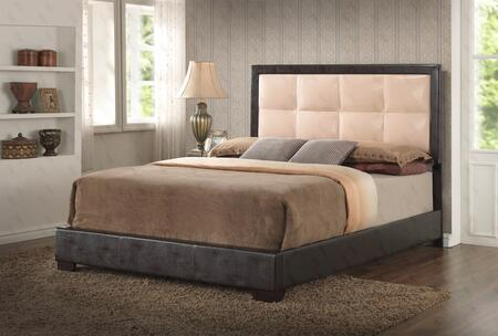 Glory Furniture G2588KBUP G2500 Series  King Size Panel Bed