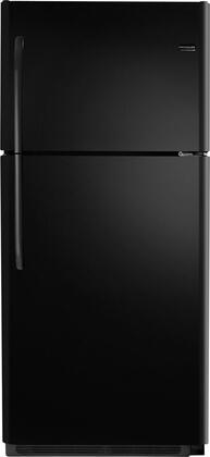"""Frigidaire FFHI2126PB30"""" Freestanding Top Freezer Refrigerator with 20.6 cu. ft. Total Capacity 2 Glass Shelves 5.3 cu. ft. Freezer Capacity"""