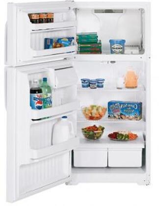 "GE GTH16BBXLWW Freestanding Full Size 15.5 cu. ft. No 28"" Top Freezer Refrigerator 
