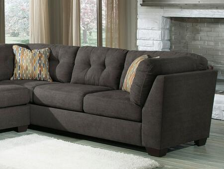 Milo Italia Gillian 1970X-34-38(2) 3-Piece Sectional Sofa with Armless Loveseat, 2 Sofas, Tufting Details and Pillows Included in