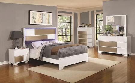 Coaster 204741KE4PC Havering Bedroom Sets