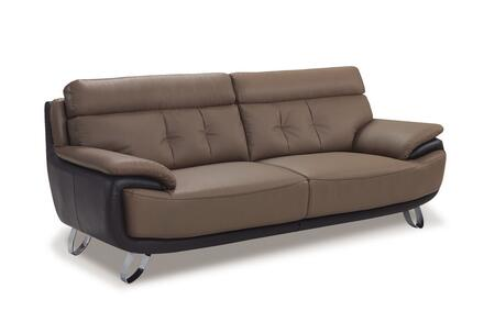 Global Furniture USA A159S  Leather Sofa