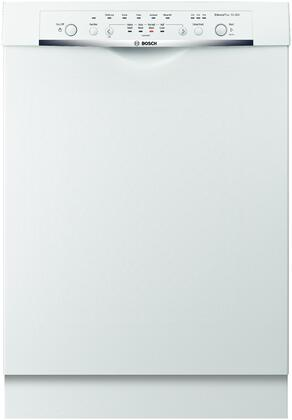 "Bosch SHE3AR52UC 24"" Ascenta Series Built In Full Console Dishwasher"