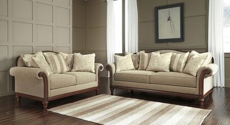 Milo Italia MI3775SLQUAR Corbin Living Room Sets