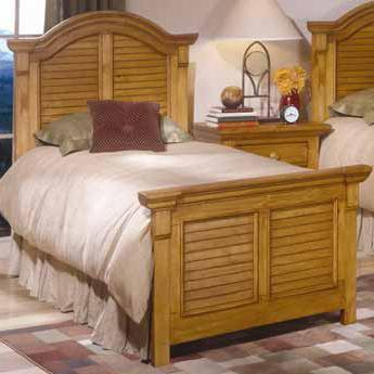 American Woodcrafters 65X066PAN 6/6 Panel King Bed in XXX Finish