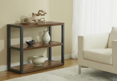 Unique Furniture P391631 Open Low Bookcase