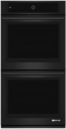 "Jenn-Air JJW2827D 27"" Double Wall Oven with Multimode Convection System, 2 Telescoping Glide Racks, 8.6 cu. ft. Total Capacity, and Rapid Preheat, in"