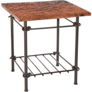Stone County Ironworks 900323COP  End Table