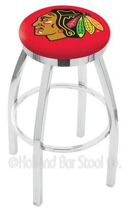 Holland Bar Stool L8C2C25CHIHWKR Residential Vinyl Upholstered Bar Stool