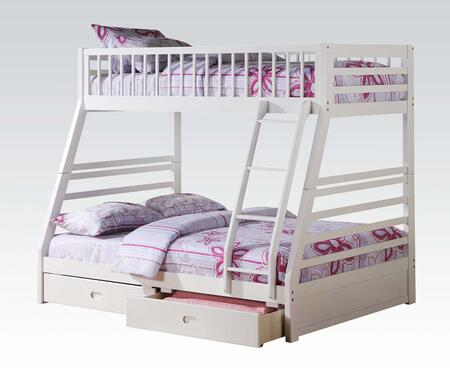 Acme Furniture 37040 Jason Series  Twin over Full Size Bunk Bed